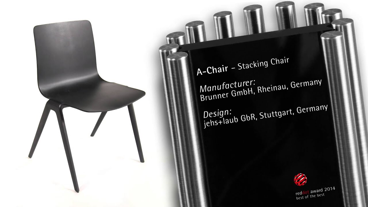brunner A-Chair wins Red Dot Award - YouTube