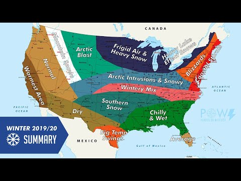 Official Winter Outlook 2019-2020 - POW Weather Channel