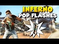 CS:GO - 10 Must-Know Self Pop Flashes on New Inferno