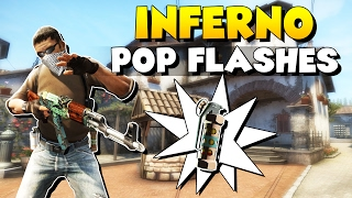 CSGO - 10 Must-Know Self Pop Flashes on New Inferno