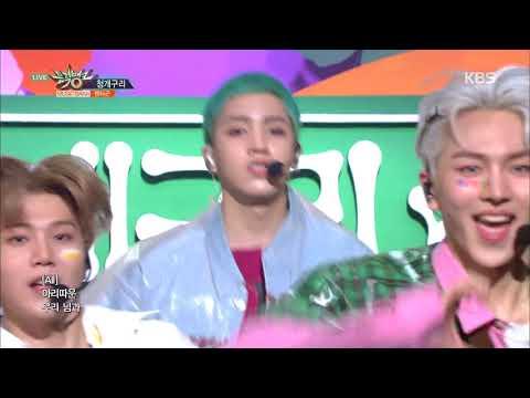뮤직뱅크 Music Bank - 청개구리(Naughty boy) - 펜타곤(PENTAGON) 14