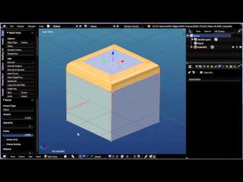 how to use solidify in blender