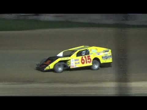 I.M.C.A. Heat Race #3 at Crystal Motor Speedway, Michigan on 09-15-2018!