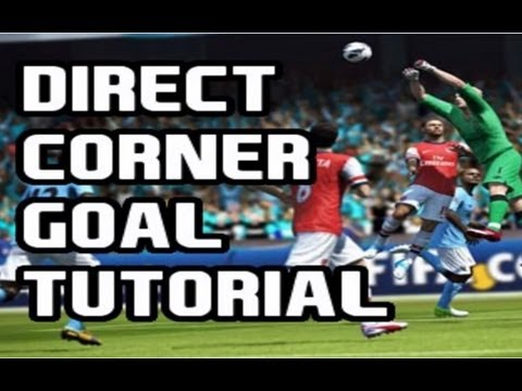 FIFA Tutorial: How To Score Goals Directly From Corners
