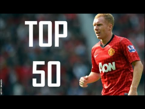 Paul Scholes ● Top 50 Goals