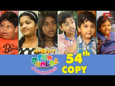 Fun Bucket JUNIORS  Episode 54  Kids Funny s  Comedy Web Series   Sai Teja  TeluguOne