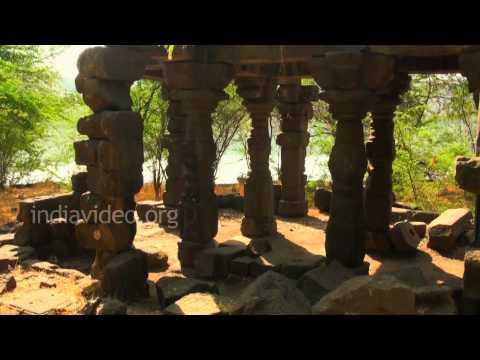 An Old Temple near Ajanta and Ellora Caves, Maharashtra