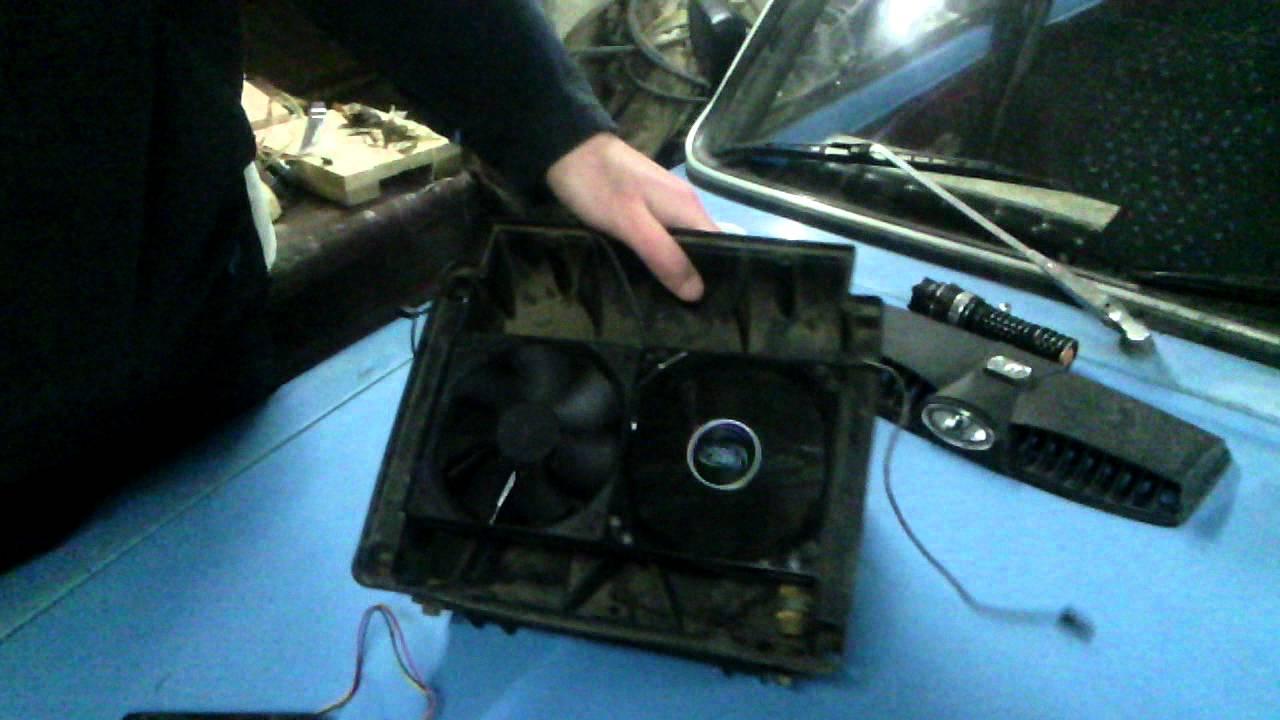 Модернизация печки ВАЗ 2101