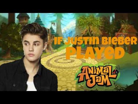 If Justin Bieber Played Animal Jam