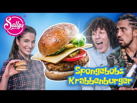 Spongebobs Krabbenburger mit Jay & Arya / Sallys Welt
