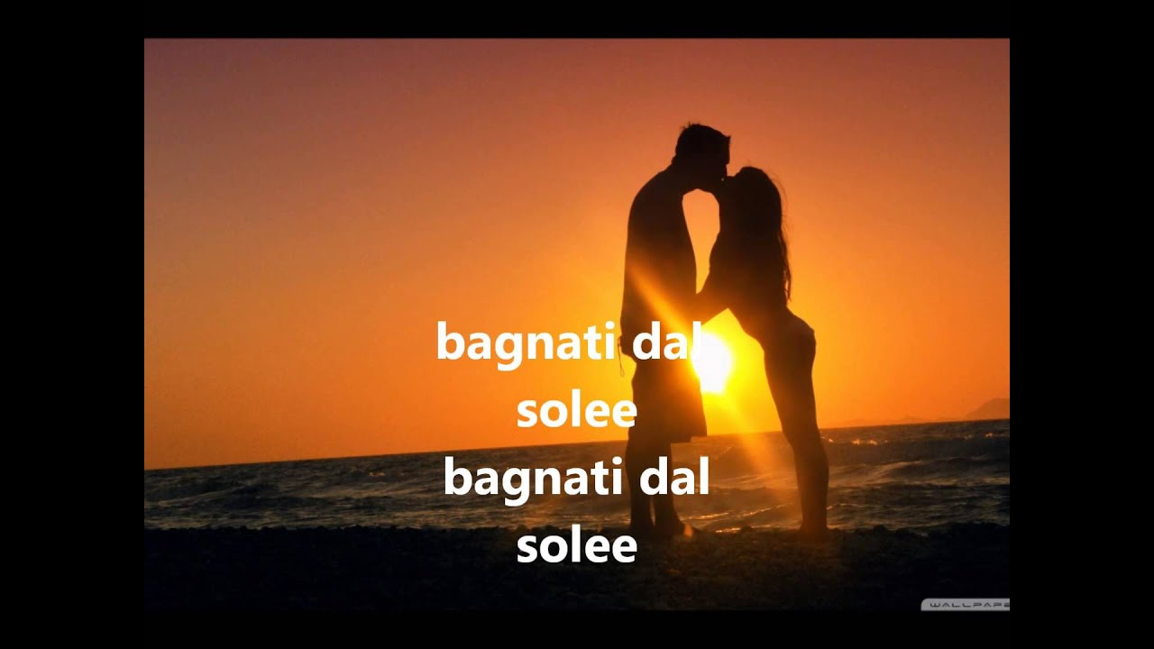 Noemi Bagnati dal sole + testo - YouTube