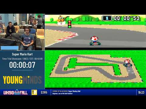 #UKSGFall18 - Super Mario Kart (Time Trial Showcase)