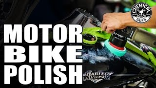 Polishing Motorcycle Plastic And Paint Tips & Tricks - Chemical Guys Rebound Scratch & Swirl Remover