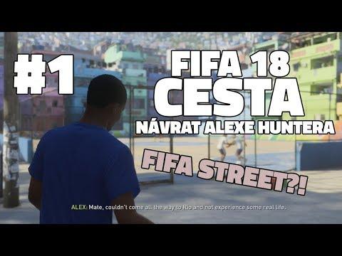 FIFA 18 CESTA #1   POULIČNÍ FOTBAL V BRAZÍLII?! 🔥