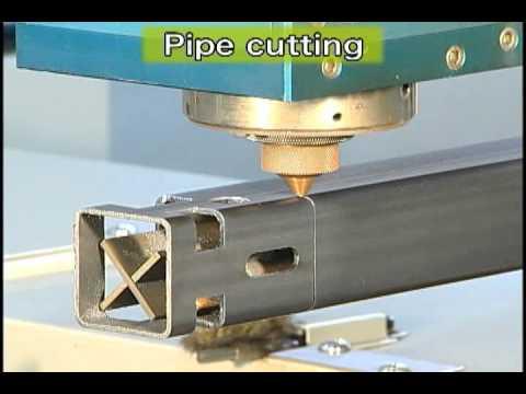 Mitsubishi Laser HVII Pipe Cutting