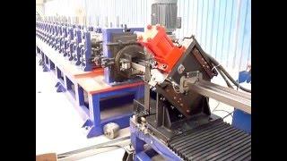 Steel Door Frame Roll Forming Machine Maquina Perfiladora,Máquina conformadora