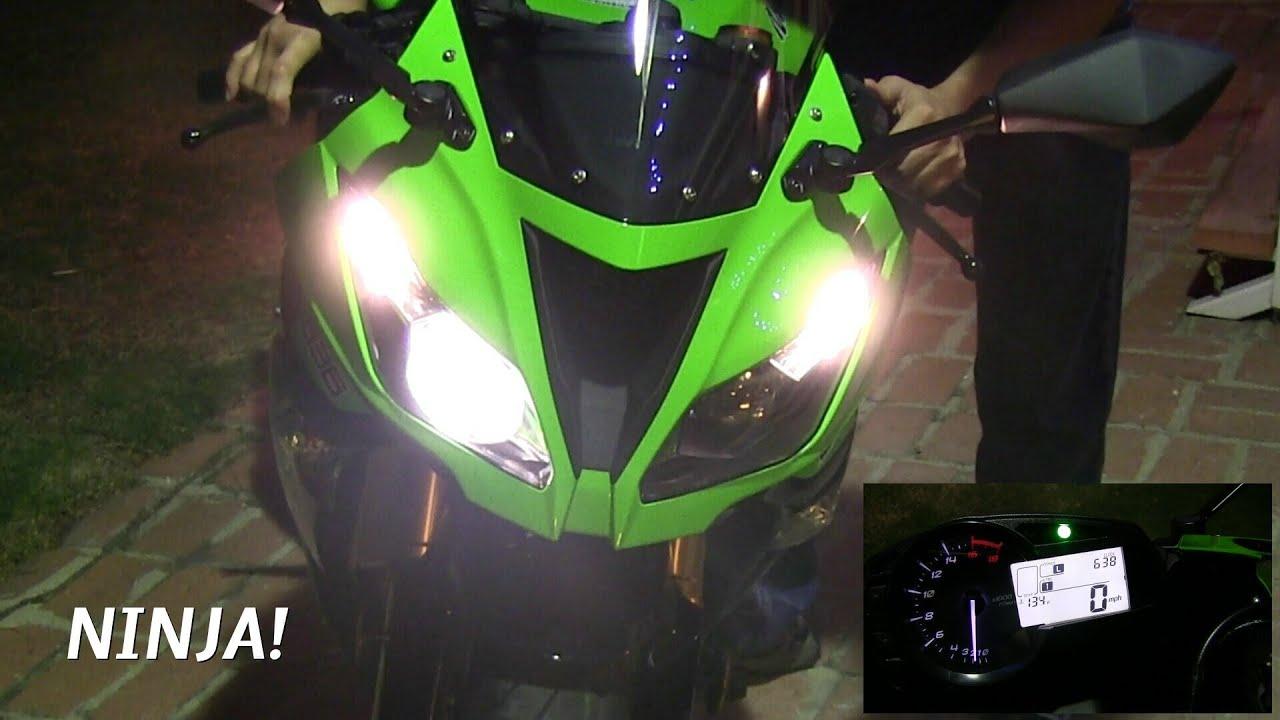 2013 Kawasaki Ninja Zx6r 636 Super Sportbike The First Engine Start