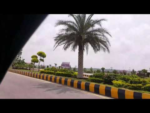 Road to One Piccadilly Islamabad