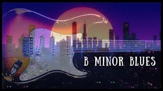 Slow Blues Jam   Sexy Guitar Backing Track - B Minor