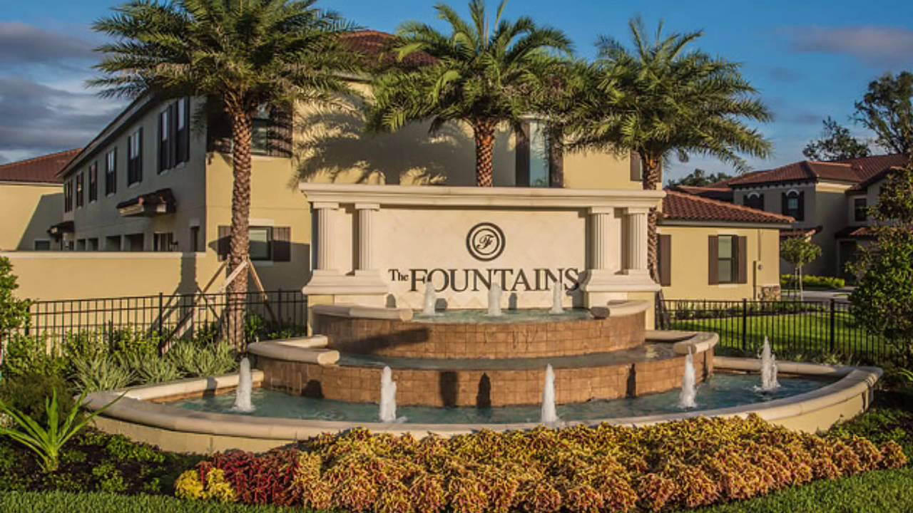 The Fountains Resort Bluegreen Vacation - YouTube