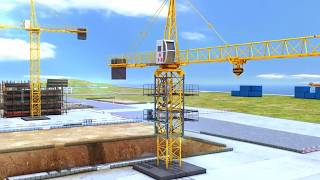 видео Заказ башенного крана