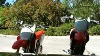 Honda CRF150R and Honda CRF230F