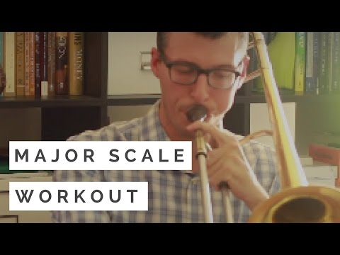 Major Scale Workout for Jazz Trombone from Nick Finzer | #TromboneTips Ep. 2