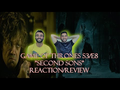 "Game of Thrones Season 3 Episode 8 REACTION/REVIEW!! ""Second Sons"""