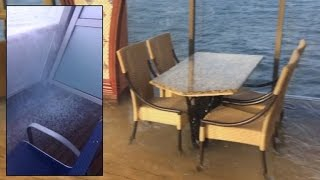 Baixar Watch The Terrifying Moment a Cruise Ship Suddenly Tilted While In Ocean