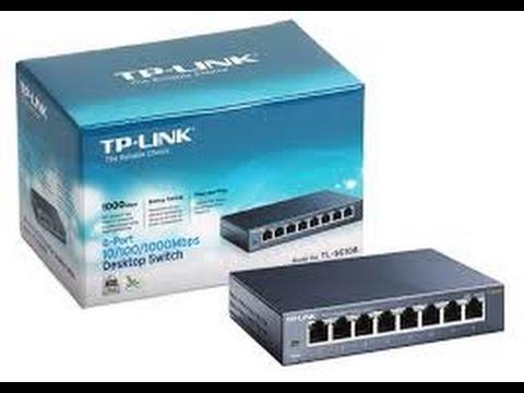 TP-LINK TL-SG108-8 NEW Port 10//100//1000MBPS Ethernet Desktop Switch