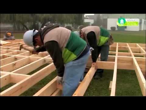 Como hacer piso de madera youtube - Como hacer un altillo de madera ...