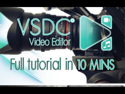 VSDC Video Editor - Tutorial For Beginners In 10 MINS!  [ 2020 ]