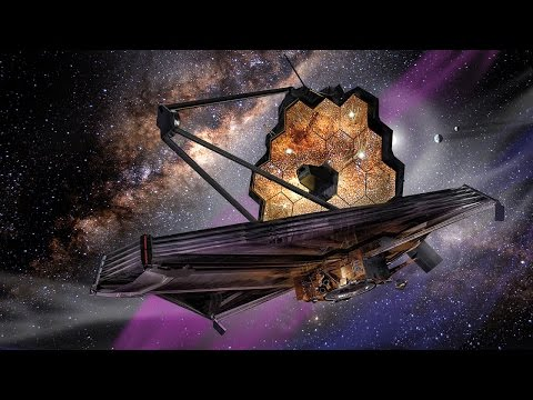 Giant Webb telescope unfolds as it travels a million miles away from Earth