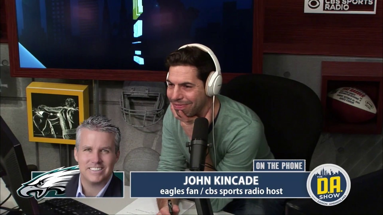 John Kincade Joins Watchda Com I Cbs Sports Radio Youtube