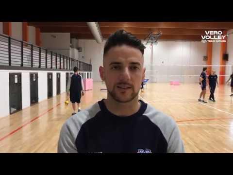 Santiago Orduna pre Vero Volley Monza vs Consar Ravenna