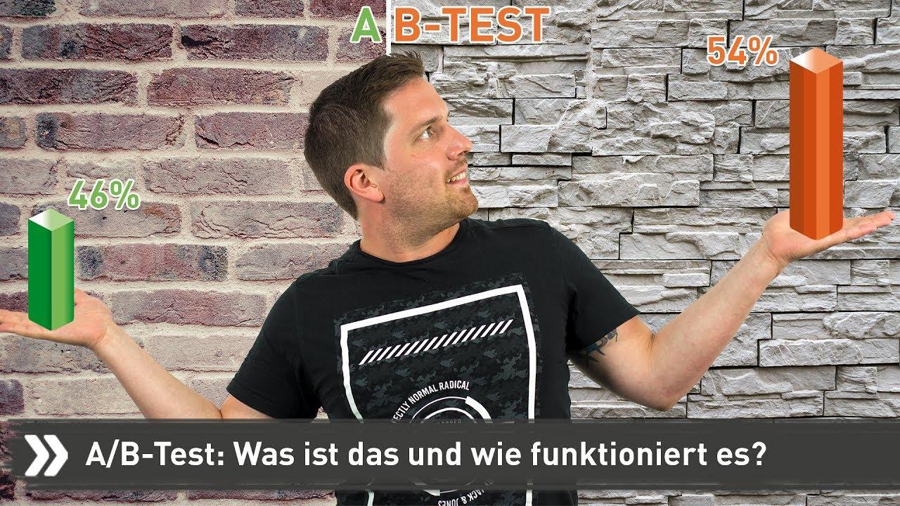 Was Ist Ein Ab Test Fairrank Tv Youtube