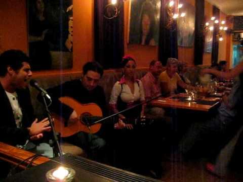 Flamenco en restaurante Vino Mío en Málaga