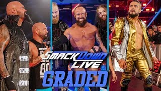 WWE SmackDown Live: GRADED (18 December) | SAnitY, Gallows & Anderson and Almas On TV!