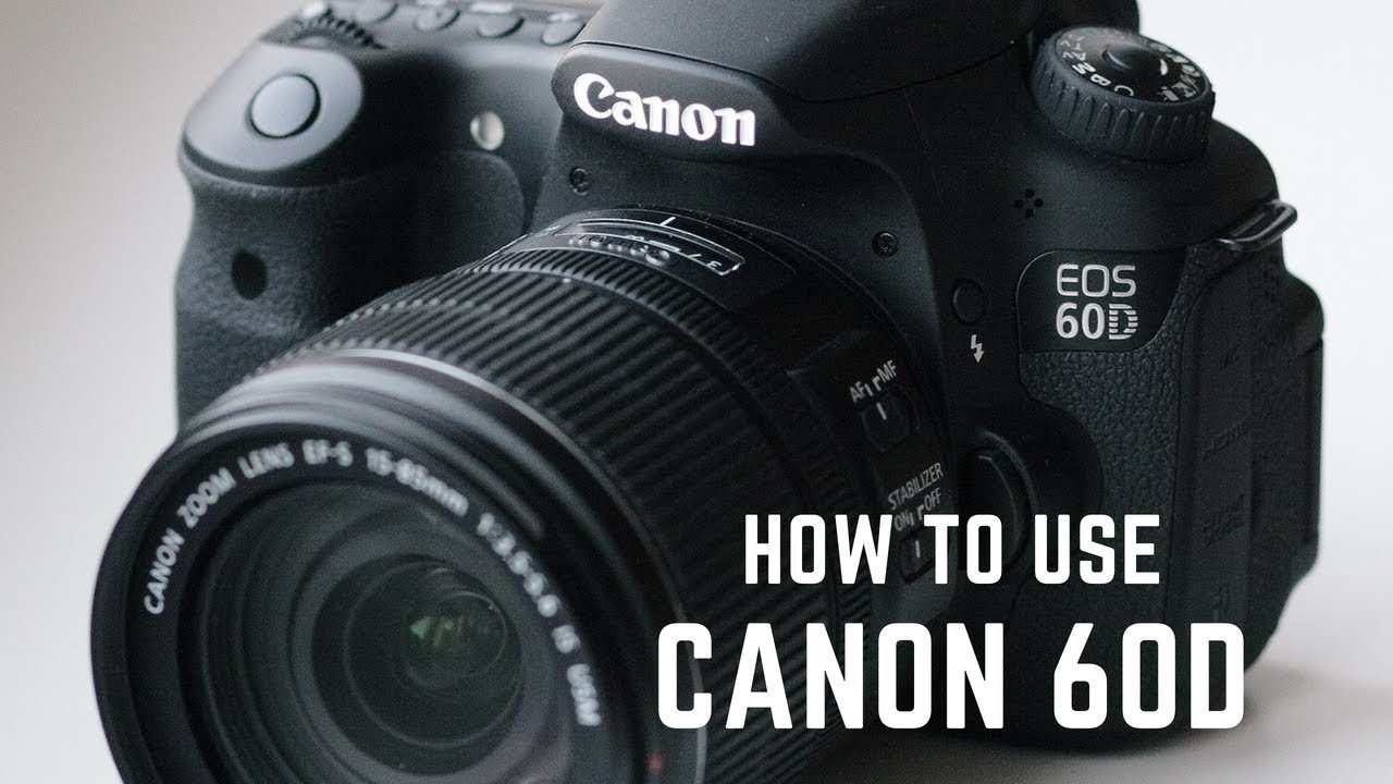 How to Use a Canon 60D || Best Settings for Video Production