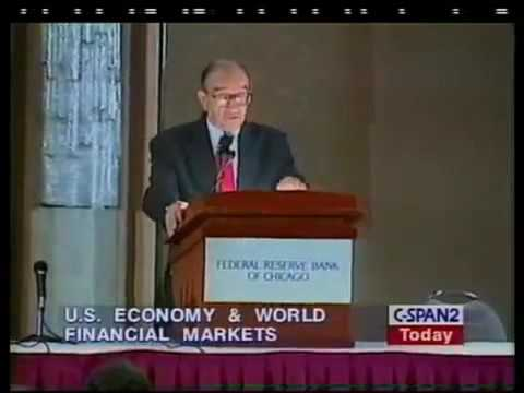 Alan Greenspan: U.S. Economy in the World Context, Stock Market & Financial Markets (1999)