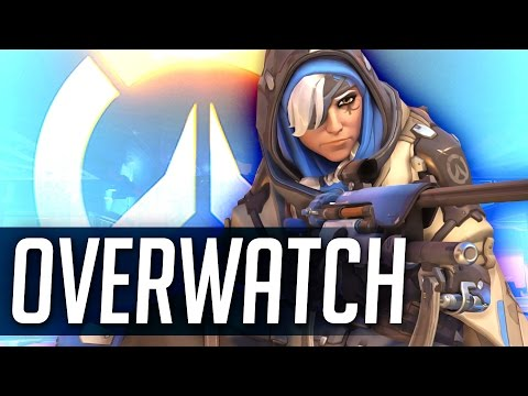Overwatch NEW HERO Ana Spotlight | Squadron Overwatch PTR Ana Gameplay | Ana the Sniper Support