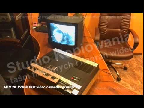 UNITRA MTV-20 Polish first video cassette recorder