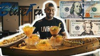 $120 WORTH OF SUSHI | GIANT SUSHI BOAT