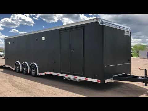 New 2018 Haulmark Edge 8.5x32 Triple Spread Axle Cargo Trailer for sale!