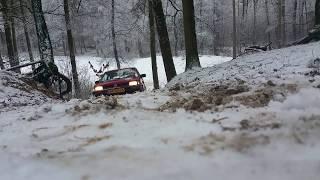 Subaru justy 4x4 climbing test