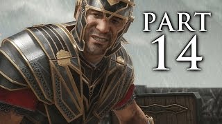 Ryse Son of Rome Gameplay Walkthrough Part 14 - Barbarian Horde (XBOX ONE)