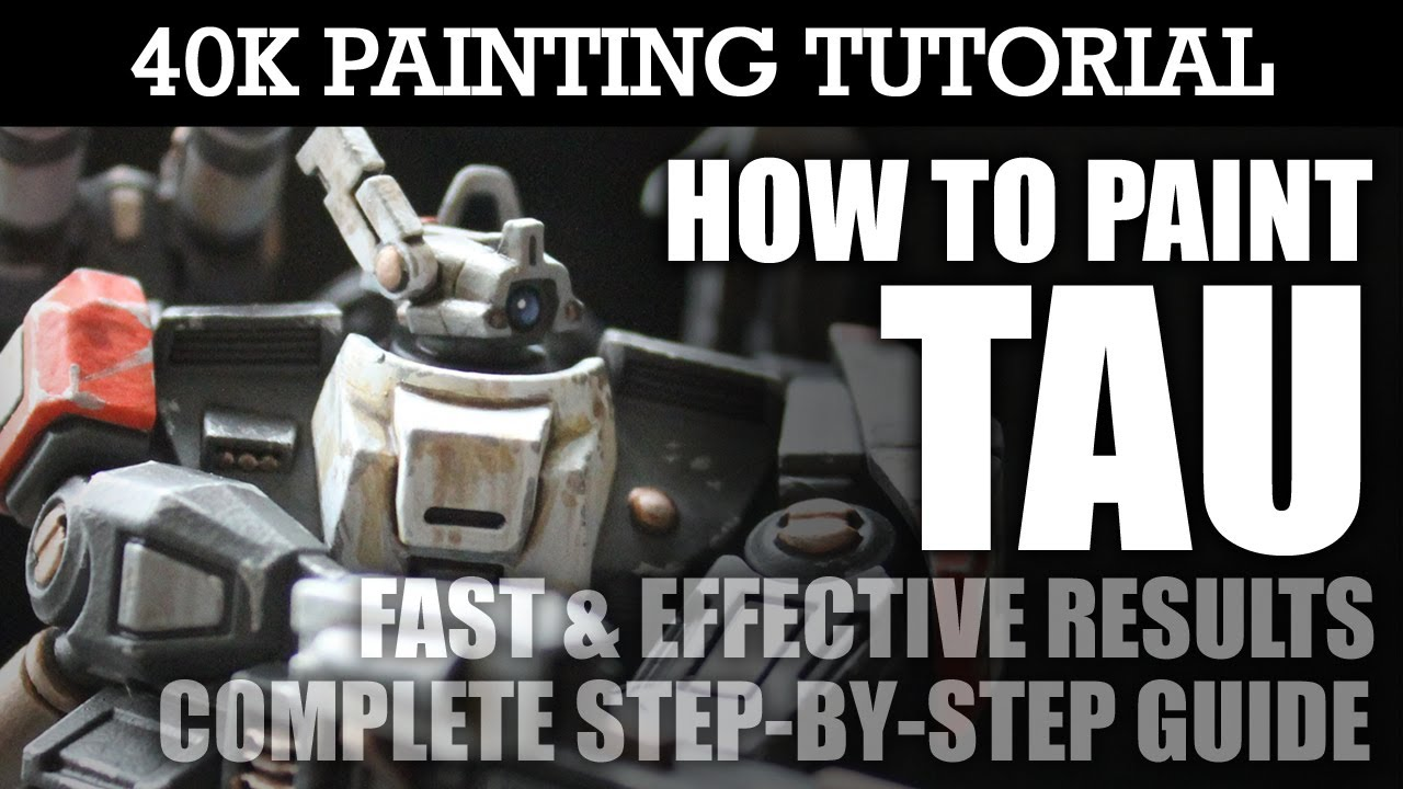 How To Paint TAU Painting Tutorial Use this technique for