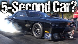5-Second Twin Turbo Hellcat DESTROYS Quarter Mile (Street Outlaws Vixen!)