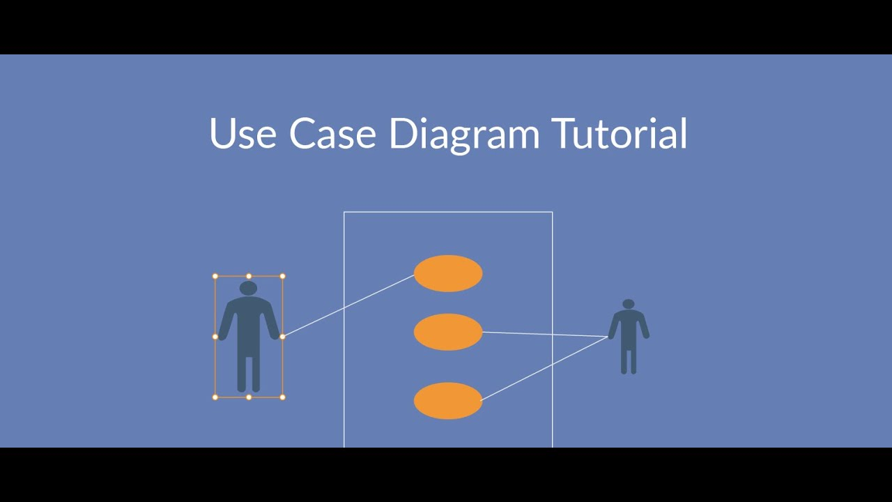 How to Draw Use Case Diagram in Visio with example - YouTube