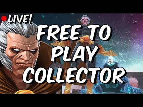 Act 5 Collector - Free To Play Adventures - Marvel Contest Of Champions